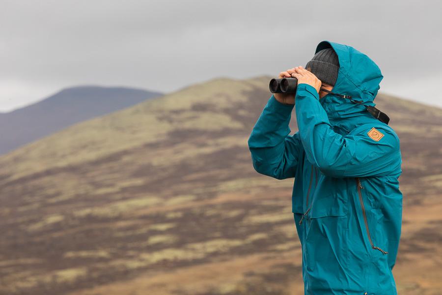 Fjallraven marco ronconi norway ecoshell anorak dovrefjell muskox norvegia fotografia naturalistica tundra fjallraven