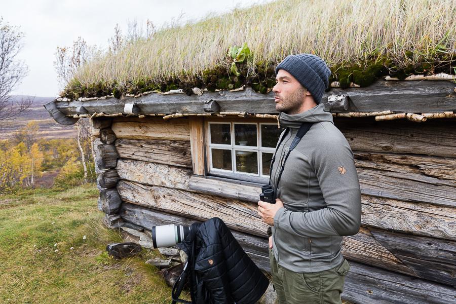 Fjallraven marco ronconi norway cabin cottage portrait nature photography norvegia fotografia naturalistica